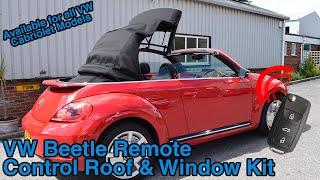 Video VW Beetle Cabriolet Remote Roof Open & Close Kit MP3, 3GP, MP4, WEBM, AVI, FLV Juli 2018