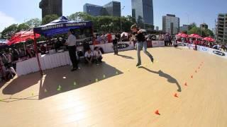 Inline skating contest, BeiJing 北京 – video