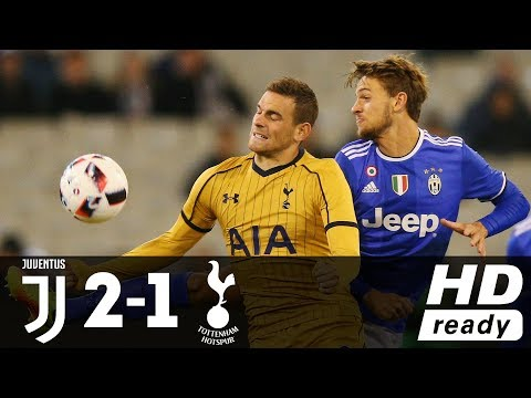 Juventus Vs Tottenham 2-1 (Friendly) - All Goals And Extended Highlights (26/07/2016) HD