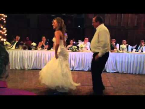 Another creative daddy-daughter wedding dance