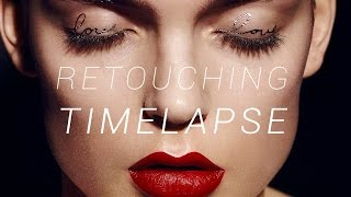 Retouching in Motion 3: Beauty Retouching Timelapse (1 hr 30 mins in 7 mins)