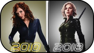Nonton Evolution Of Black Widow In Movies  2010 2018  Natasha Romanoff History In Avengers Infinity War Film Subtitle Indonesia Streaming Movie Download