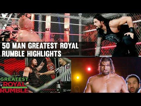 WWE Greatest Royal Rumble 27th April 2018 Hindi Highlights Preview | Roman reigns vs Brock Lesnar