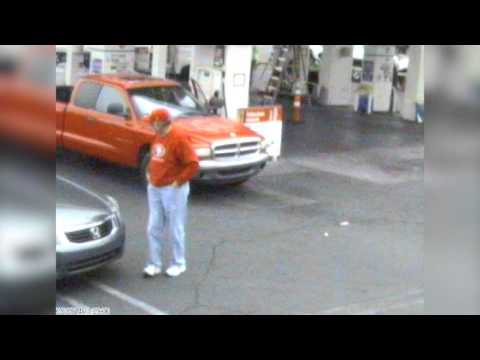 VIDEO: Man Run Over At Gas Station In Las Vegas