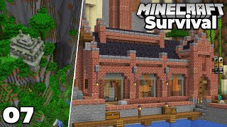 Let's Play Minecraft Survival : Industrial Potion Brewery! Episode 7