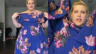 I do some amazingly bad dancing, sing songs about random things and show you some plus size dresses I picked up in this...