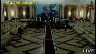 Body Of PM Meles Zenawi Arrives In Ethiopia : Part 1 Of 2