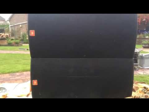 JBL SP128S Test / Test der PA anlage