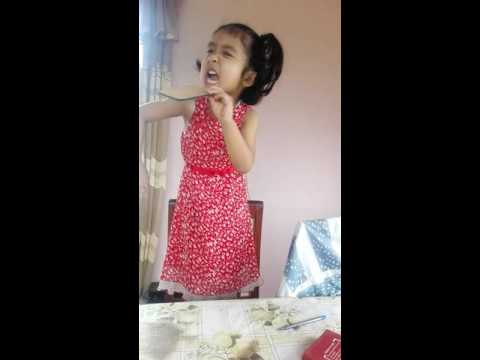 (4 years old Aayusha act performance - Duration: 4 minutes, 44 seconds.)