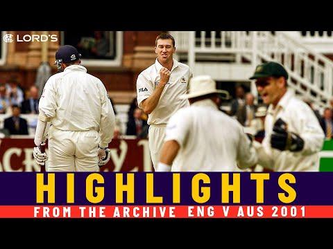 McGrath & Waugh At it Again For Australia! | Classic Match | England v Australia 2001 | Lord's