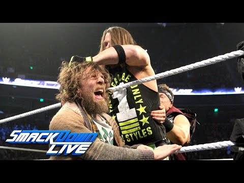 AJ Styles crashes Daniel Bryan's interview on