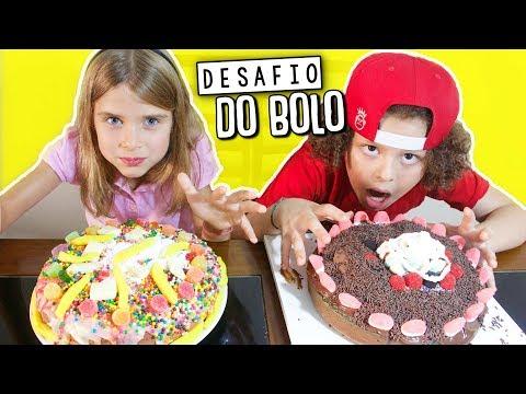 DESAFIO DO BOLO - CAKE CHALLENGE
