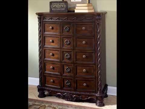 Best Ashley Furniture North Shore Sleigh Bedroom Set