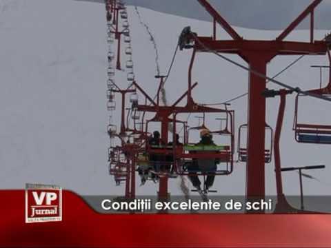 Condiţii excelente de schi