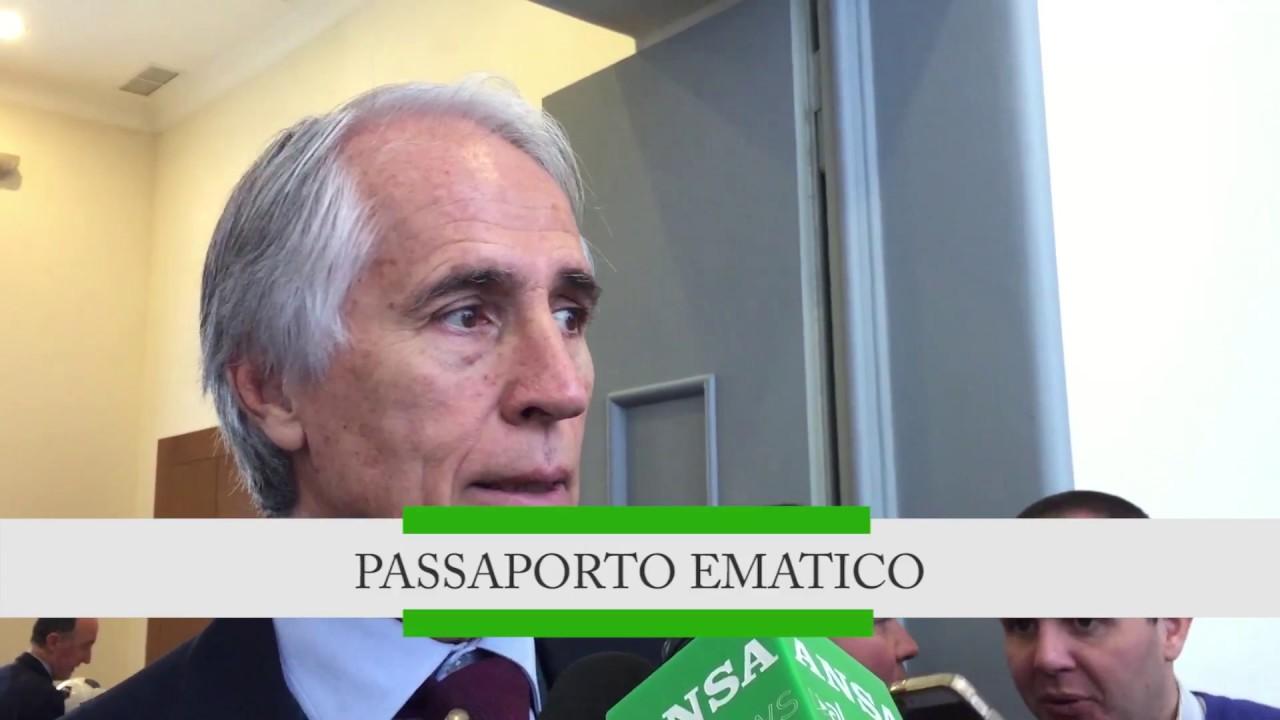 """Premio """"Andrea Fortunato"""": si riapre dibattito sul passaporto ematico"""
