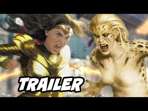 Wonder Woman 1984 Trailer 2020 - New Wonder Woman Cheetah Clip Breakdown and Easter Eggs