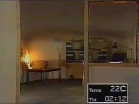 Feuerwehr : Brandversuch - Zimmerbrand, Room on Fire, Feuerwehr