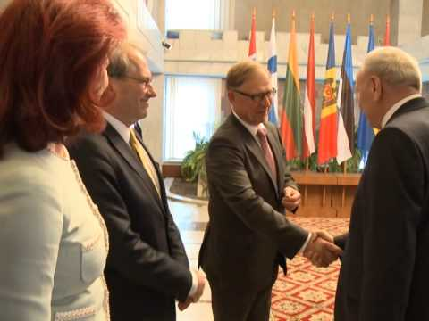 President Nicolae Timofti meets speakers of Baltic and Northern States