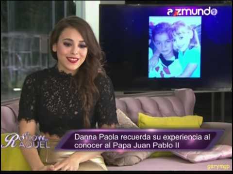 Danna Paola en El show de Raquel - Parte 1