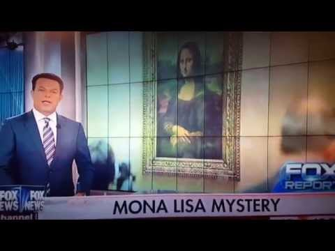 Leonardo DiCaprio Credited with Painting the Mona Lisa on Fox News!
