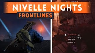 A new update has just come out for the Nivelle Nights map in Battlefield 1 CTE, and it allows us to test out the Frontlines game...