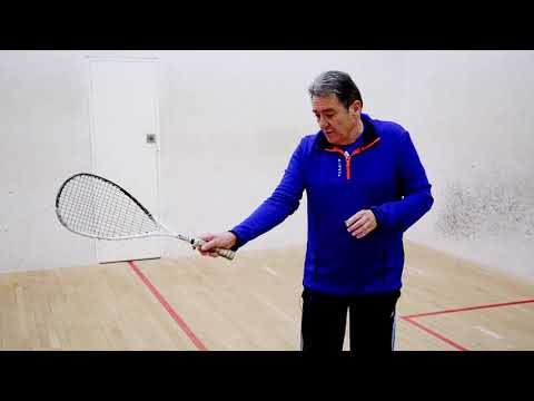 Squash tips: Importance of wrist position with Dave Pearson - Introduction