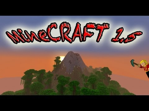 MineCraft 1.5 Snapshot Volcanos, Tropical Jungles, Dragons!!!