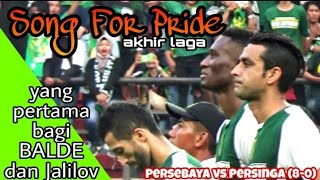 Download Video Merinding, Anthem Song For Pride Menggema diakhir laga Persebaya vs Persinga Ngawi di Stadion GBT MP3 3GP MP4