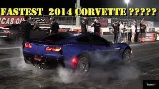 World's Fastest 2014 C7 Corvette ? - 11.02 @ 134 Mph - 1/4 Mile Drag Video - Redline - Road Test TV