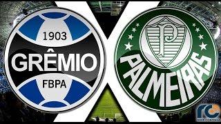 GRÊMIO x PALMEIRAS - AO VIVO Narração: Gabriel Dias; comentários: Felipe Lessi e reportagens: Guilherme Silva Atual líder...
