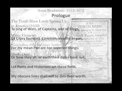 pdf file anne bradstreet the prologue