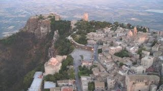 Trapani Italy  City pictures : ERICE ( Trapani - Sicily - Italy ) - TOUR COMPLETO -