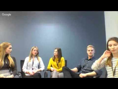 Hangout with Marketing and Communications Interns