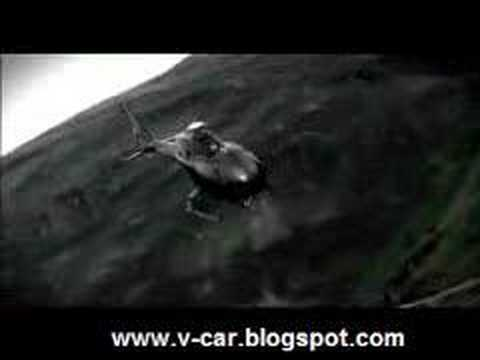 Audi A4 vs Helicopter