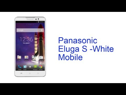 Panasonic Eluga S -White Mobile Specification [INDIA]
