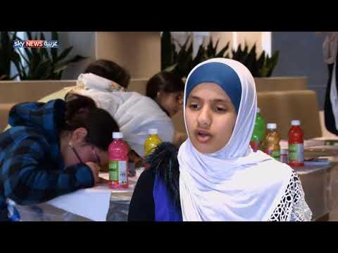 العرب اليوم - شاهد: طفلة كفيفة تتقن الرسم وتميز الألوان بالشم
