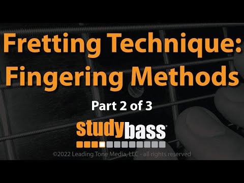 Fretting Technique: Fingering Methods