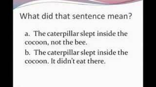 Stress Patterns, English Pronunciation Lesson 8b