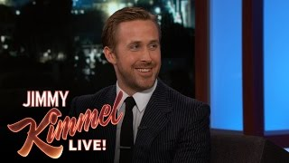 Video Ryan Gosling on Working with Harrison Ford in Budapest MP3, 3GP, MP4, WEBM, AVI, FLV Juni 2017