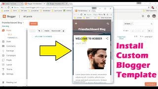 How to Install a Template on Your Blogger Blog, Responsive Blogger Templates Kaise Add Kare,How to Add Responsive Blogger Templates , How to Install a Custom Blogger TemplateNoCopyrightSounds: Music Without Limitations.Song: T-Mass - Bow and Arrow [NCS Release]Music provided by NoCopyrightSounds.Watch: https://youtu.be/xzX4PWZT3A0Download/Stream: http://ncs.io/BowandArrowYOFtb MadeSimple9662A,friendtechboard B662A,Friend Tech Board C662A,Exclusive Tutorial Videos And Unique Tips And Tricks By friendtechboard made simple, Share on Facebook and tag @friendtechboardConnect with Me on -Email: friendtechboard@gmail.comFacebook: https://facebook.com/friendtechboardInstagram: https://instagram.com/friendtechboardTwitter: https://twitter.com/friendtechboard