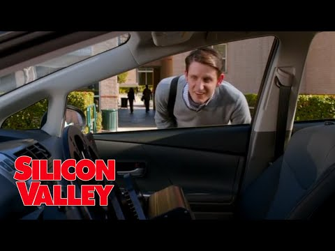 Jared gets stuck in driverless car - Silicon Valley