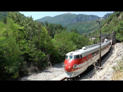 ETR 450 Pendolino superstar ferrovia Ancona Roma \ Pendolino Train in Ancona Roma Railroad