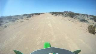 8. kx500 speed run 98 mph GoPro