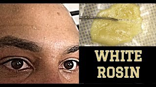 White Rosin!? - White Russian Strain Review - by Asight4soreeyez