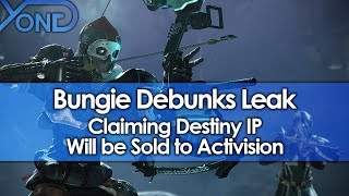 Video Bungie Debunks Leak Claiming Destiny IP Will be Sold to Activision MP3, 3GP, MP4, WEBM, AVI, FLV Juni 2018