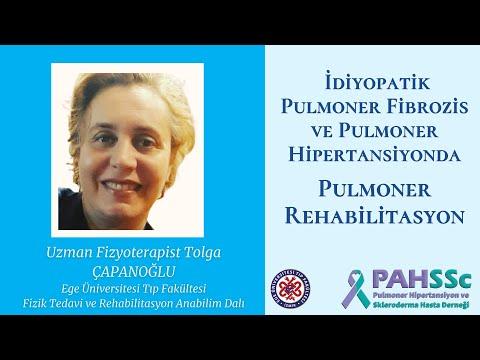 Uzman Fizyoterapist Tolga ÇAPANOĞLU ile IPF ve PAH ta Pulmoner Rehabilitasyon - 2021.02.03