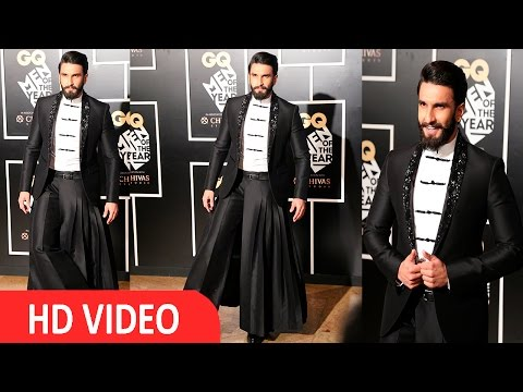 Ranveer Singh At Red Carpet Of GQ Men Of The Year Awards