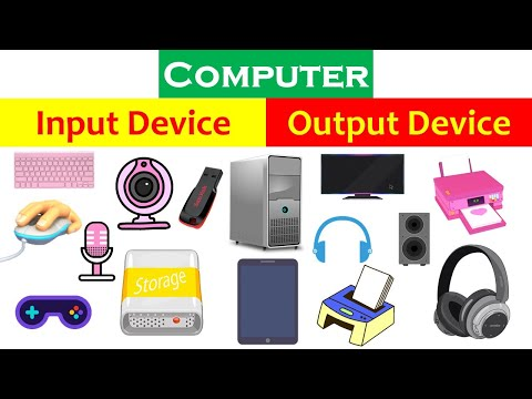 Computer Input and Output Device | Input and output device uses
