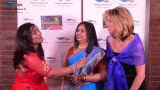 Sowmya speaks to Bhavna and Becky on the RED CARPET