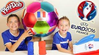 Video Surprises dans un Drapeau Français en Play-Doh & Ballon Géant - Special Match FINALE EURO 2016 MP3, 3GP, MP4, WEBM, AVI, FLV Mei 2017